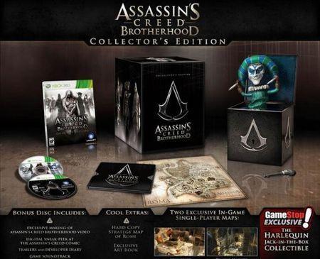 Assassin's Creed Brotherhood: edizione da collezione