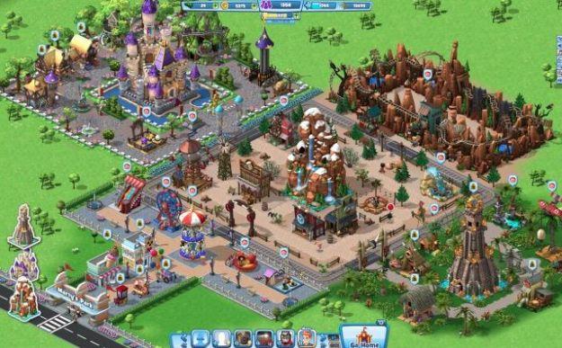 coasterville gioco gratis su facebook