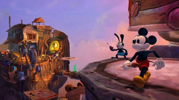disney epic mickey 2 l avventura di topolino e oswald