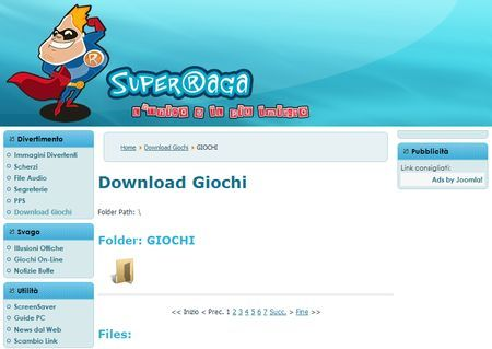 download giochi gratis superraga