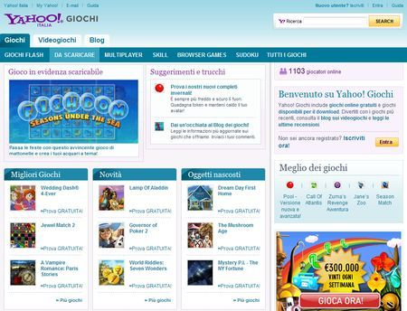 download giochi gratis yahoo games