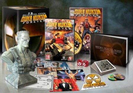 Duke Nukem Forever: vi piace la Collector's Edition?