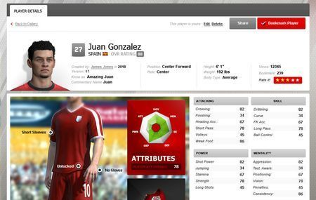 fifa 11 creation centre online