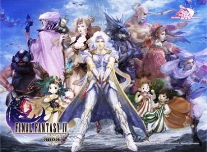 Final Fantasy IV, ancora remake! Square Enix punta su PSP