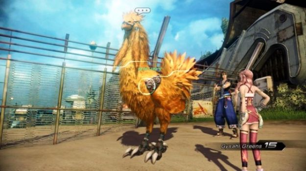 final fantasy xiii 2 chocobo corse gare