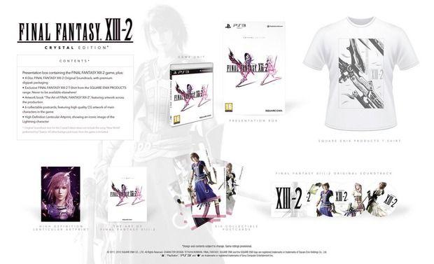 Final Fantasy XIII-2: Limited e Crystal Edition imperdibili!