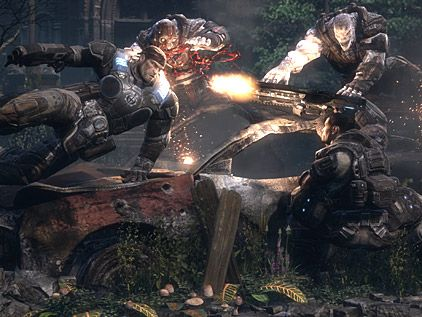 Gears of War 2 gameplay