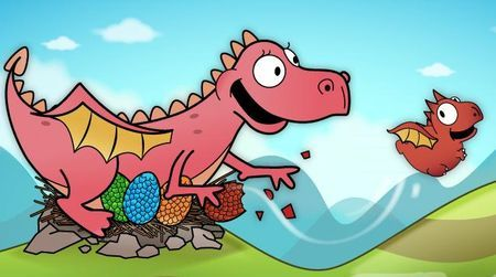Tra i giochi per Android più belli c'è Dragon Fly, ispirato a Tiny Wings per iPhone