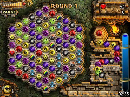 Giochi flash: Mayan Caves gratis online