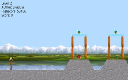 Tra i nuovi giochi per iPhone c'è Angry Frogs, simile ad Angry Birds