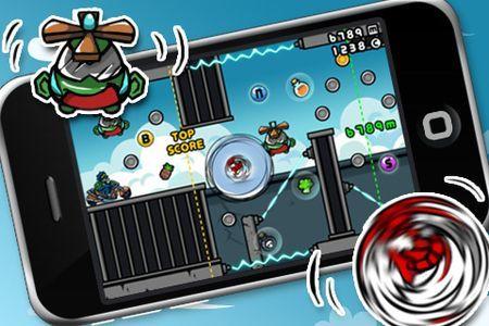Uno dei giochi per iPhone più divertenti è Bad Rabbit, un platform originale