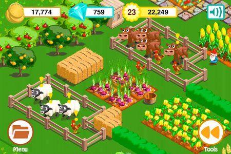 Giochi iPhone gratis: Farm Story Valentine's Day per San Valentino