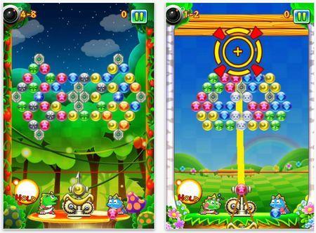 Giochi per iPhone: New Puzzle Bobble, un classico in mobilità