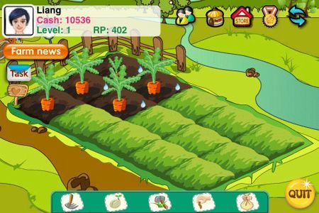 Giochi per iPhone: Papaya Farm, la fattoria virtuale