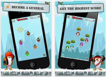 Giochi per iPhone: Penguin Airborne gratis su App Store