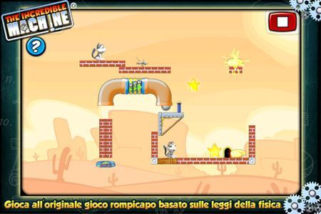Uno dei giochi per iPhone più divertenti è The Incredible Machine
