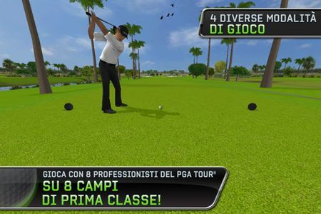 Giochi per iPhone: Tiger Woods PGA Tour 12 su App Store
