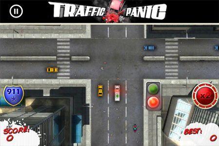 Giochi per iPhone: Traffic Panic, un divertente puzzle gratis