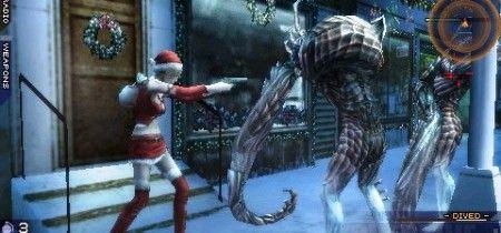 Parasite Eve PSP: buon Natale da Aya Brea!