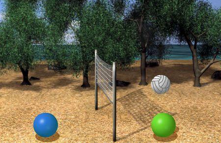 giochi sport online volley spheres 2