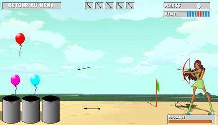 giochi winx gratis online tiro arco layla