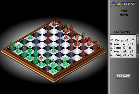 Scacchi gratis online in flash su Tuttogratis Giochi