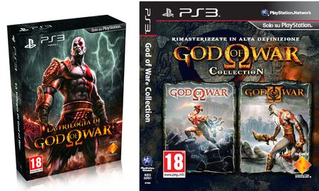 Sony: su PS3 God of War Collection e Trilogia