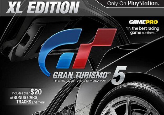 Gran Turismo 5 XL Edition è ufficiale: ecco tutti i contenuti
