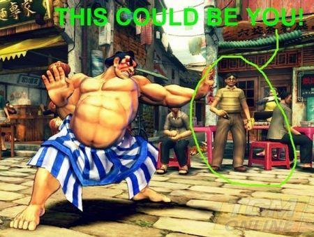 Street Fighter IV : potreste esserci anche voi nel videogioco!