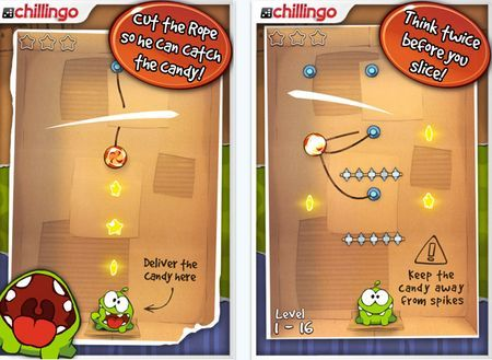 ipad giochi gratis cut the rope lite