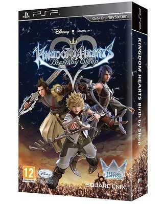 Kingdom Hearts PSP: edizione limitata e nuovo video