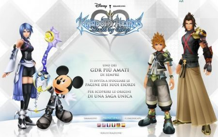Kingdom Hearts PSP: solo 8,5/10 da IGN.com
