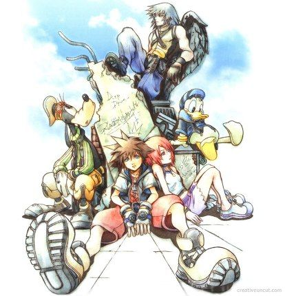 kingdom hearts re coded conversazione segreta