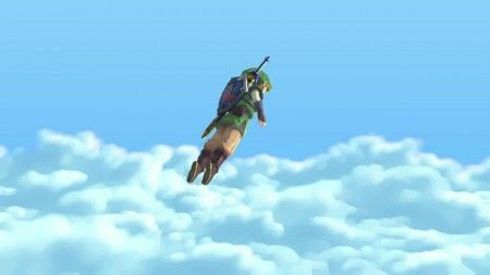 legend of zelda skyward swork nintendo wii