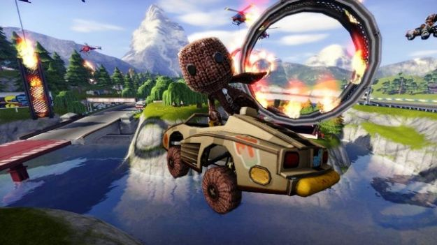 little big planet karting screenshot
