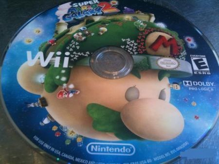Super Mario Galaxy 2: un CD disegnato
