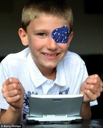 Mario Kart DS usato come terapia per curare la vista di un bambino