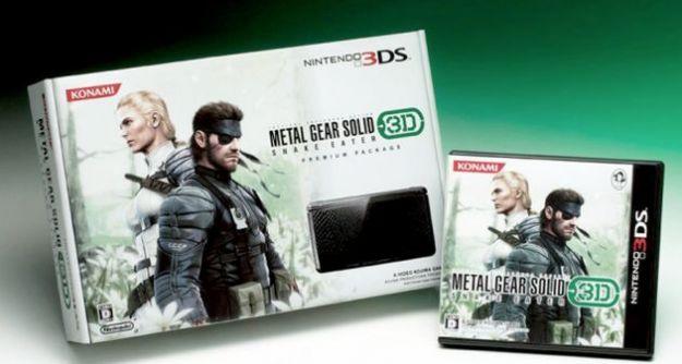 Metal Gear Solid 3D Snake Eater ispira un'esclusiva Nintendo 3DS