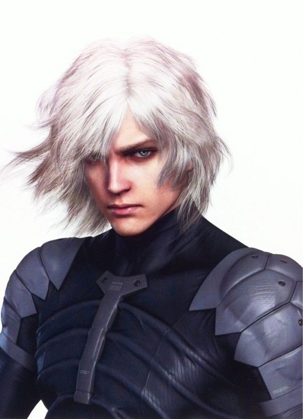 Metal Gear Solid Rising: Raiden in un artwork misterioso