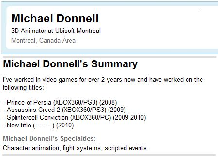 Michael Donnell LinkedIn