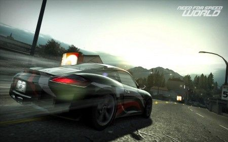 need for speed world caratteristiche
