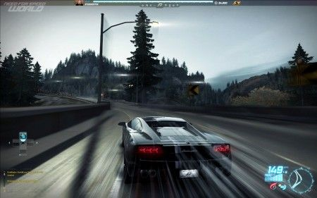 need for speed world online scheda