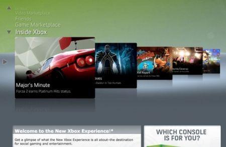 Xbox new experience