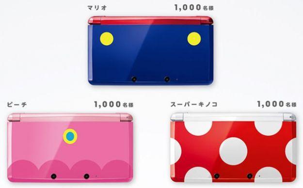 Nintendo 3DS in tre bellissime edizioni limitate in Giappone