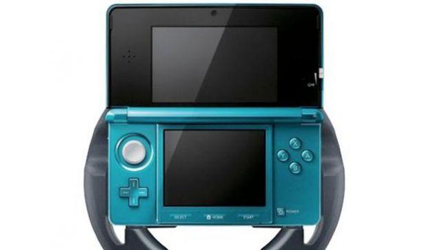Per la Nintendo 3DS arriva un volante per giocare a Mario Kart 7