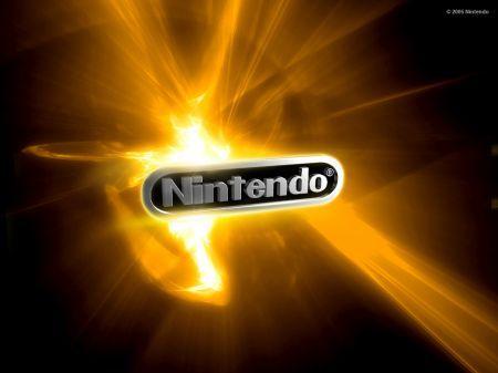 Logo dorato Nintendo