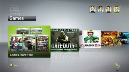 Xbox new live experience