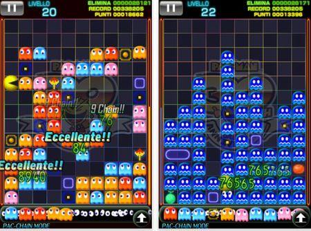 Pacman in versione puzzle per iPad