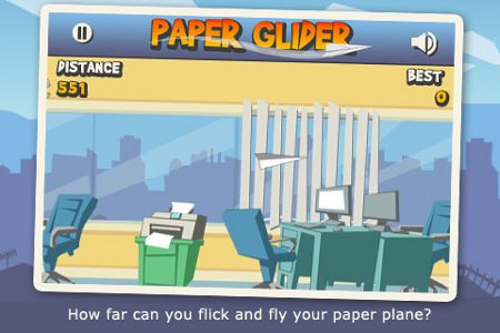 paper glider gioco app store download