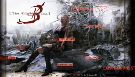 Parasite Eve PSP: sito ufficiale per The 3rd Birthday